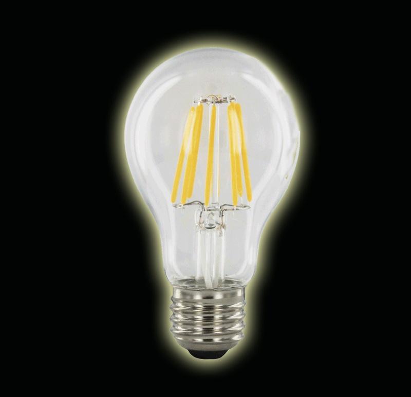 led lampen filament 6 watt clear nieuw led super. Black Bedroom Furniture Sets. Home Design Ideas